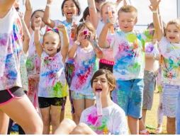 Colour Run is a colourful success!